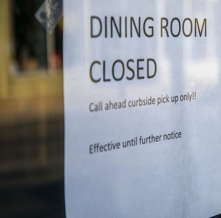 Restaurants Pushback Against New Shutdown Orders